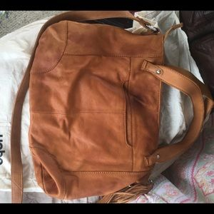 Hobo tote with dust bag
